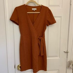 Madewell Texture and Thread Side-Tie Dress Size S
